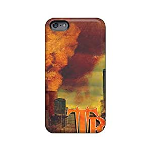 Shockproof Cell-phone Hard Covers For Iphone 6plus With Custom Realistic Breaking Benjamin Skin KerryParsons