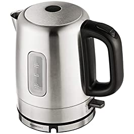 Amazon Basics Stainless Steel Electric Kettle – 1-Liter (Renewed)