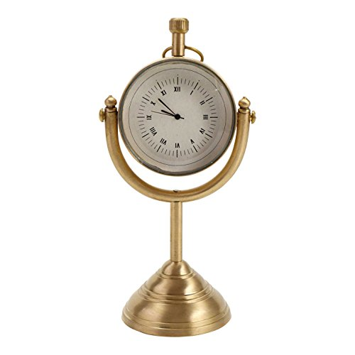 FLOOR | 9 Brass Desk Clock
