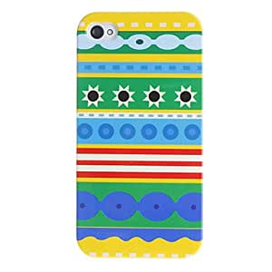 Sun Pattern Hard Case for iPhone 4/4S