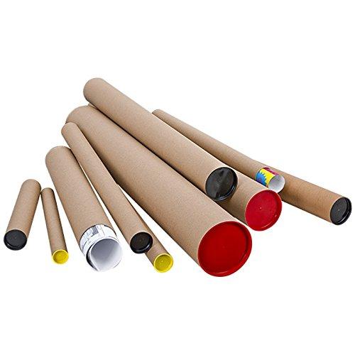 Propac z-tuk12115 Tube d'expé dition en carton la Havane, 12 cm x 115 cm, lot de 7 12cm x 115cm