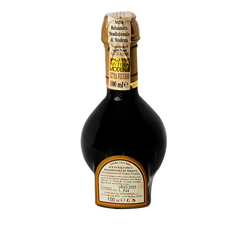 Balsamic Vinegar of Modena Traditional 25 year old DOP certified. Highest score from The Consortium of Modena. Aceto Balsamico Tradizionale Extra Vecchio. On Sale Now. by The Balsamic Guy (Image #5)