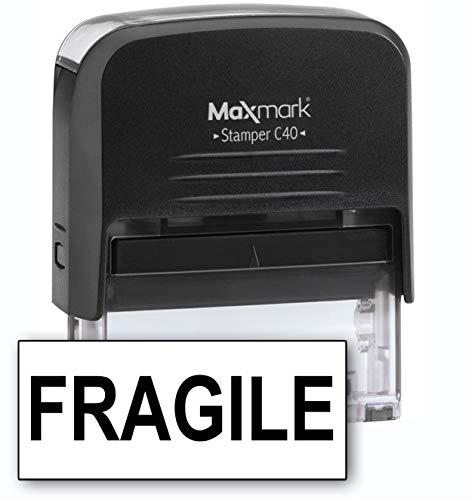 MaxMark Large Size - 1-Line Custom Self Inking Stamp - w/ 5-Year Warranty