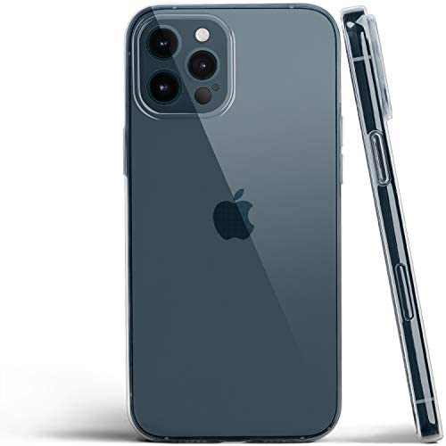 totallee Clear iPhone 12 Pro Max Case, Thin Cover Ultra Slim Minimal - for iPhone 12 Pro Max (2020) (Transparent)