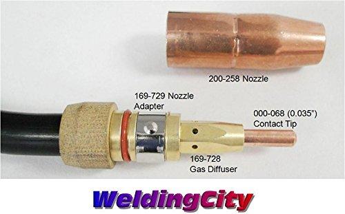 weldingcity-mig-welding-gun-200a-12-ft-torch-stinger-replacement-for-miller-millermatic-m-200
