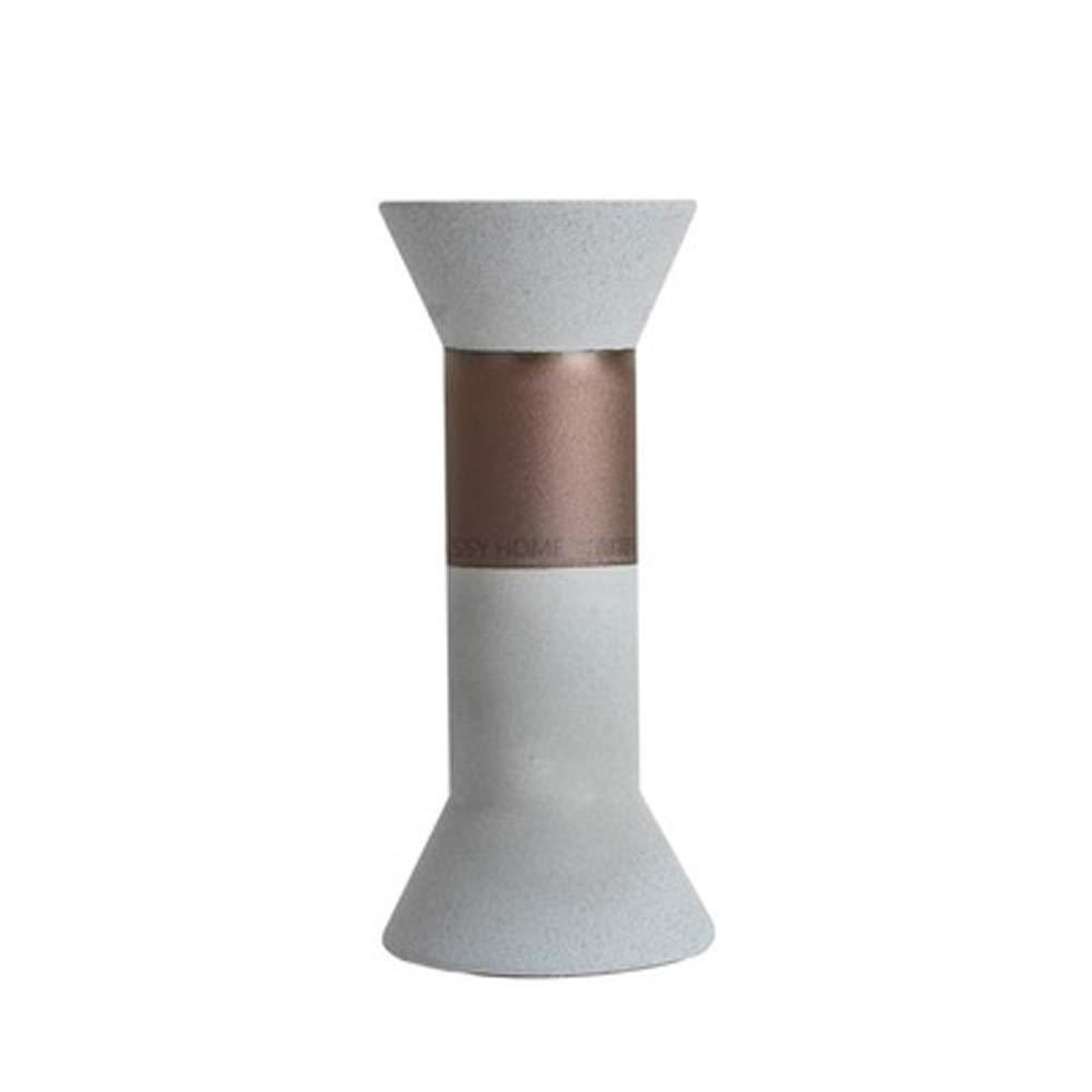 シンプル花瓶用花緑植物結婚式の植木鉢装飾ホームオフィスデスク花瓶花バスケットフロア花瓶 (三 : E) B07QWVXB95  E