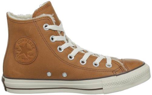 Converse Chuck Taylor All Star Lea Shearl, Unisex - Erwachsene Sneaker Braun (Rust)