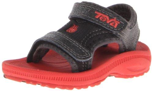 Teva Psyclone 3 T Water Shoe ,Black/Red,4 M US Toddler
