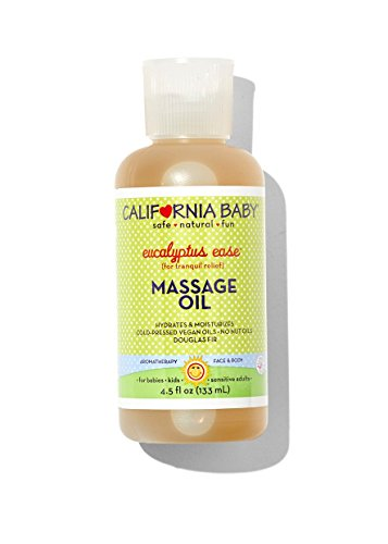 California Baby - Aromatherapy Massage Oil Eucalyptus Ease A