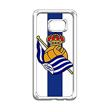 Real Sociedad De Fútbol Funda Carcasa For clear Samsung S7edge ...