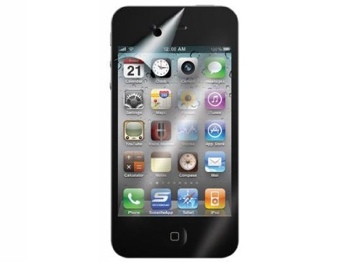 Scosche Clear Case (Scosche 2 Front/1 Back Ultra-clear Protective Films for the New iPhone 4/4S - Verizon and AT&T)