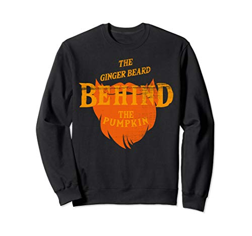 Good Halloween Costumes For Bearded Guys (THE GINGER BEARD BEHIND THE PUMPKIN HALLOWEEN GIFT)