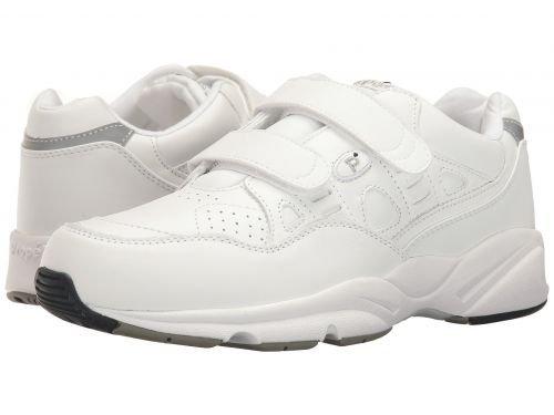 バンドル計画的遠洋のProp?t(プロペット) メンズ 男性用 シューズ 靴 スニーカー 運動靴 Stability Walker Strap - White [並行輸入品]