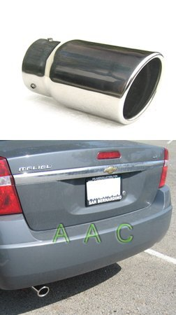 Stainless steel exhaust tip w/ mirror polish finish - Chevy Malibu 04-07
