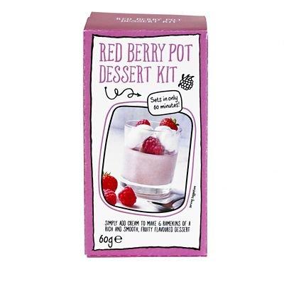 Lakeland Just Add Cream Berry Pot Dessert Mix, 60g