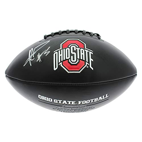 Raekwon McMillan Autographed Signed Ohio State Buckeyes Baden Collector Series Black Football - Certified Authentic - Ohio State Buckeyes Collectors