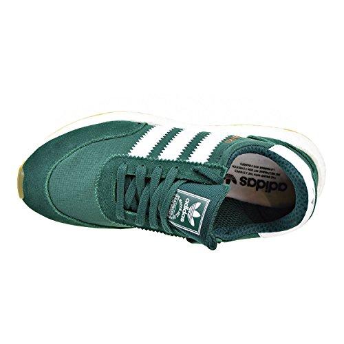 Uomo Runner Collegiate Green a Basso Sneaker White Collo adidas Iniki T0qR5wRY
