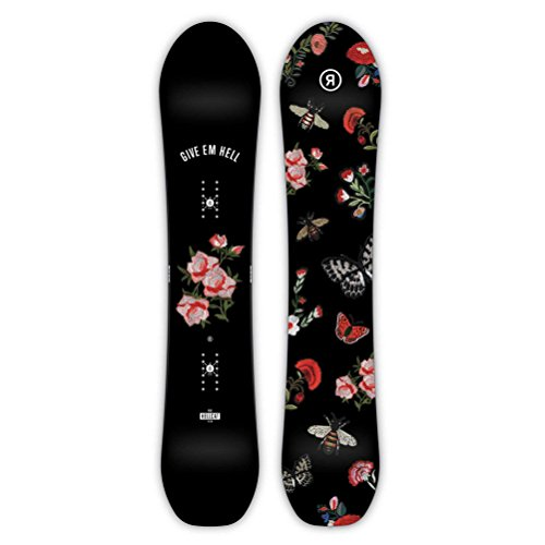 Carbon Ride Snowboard Snowboards (Ride Women's Hellcat Snowboard - 147)