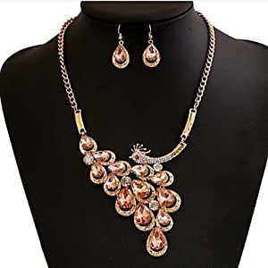 Amazon.com: SHILIYOUPIN Jewelry Set £¬ Women's Rhinestone
