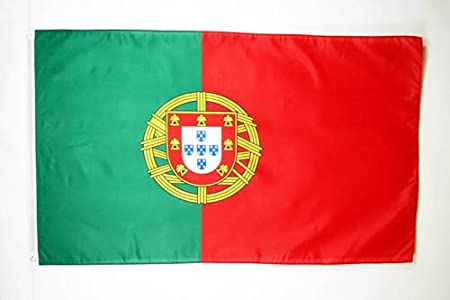 AZ FLAG Bandera de Portugal 90x60cm - Bandera Portuguesa 60 x ...