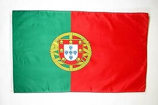 AZ Flag - Bandiera Portogallo 150 x 90 cm - Bandiera Portoghese - Poliestere di Alta qualità - Occhielli