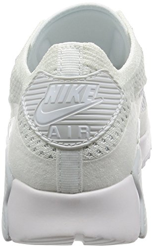 Nike W Air Max 90 Ultra 2.0 Flyknit - 881109-104 - US Size white, white-pure platinum