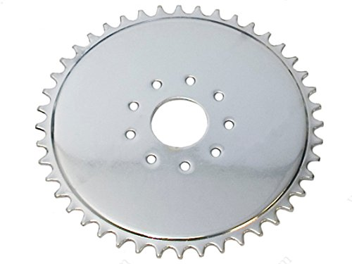 Flying Horse 2 Stroke and 4 Stroke Motorized Bicycle Sprocket - Gas Bike Gear (44 Tooth) ()