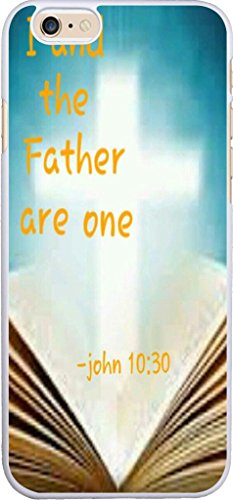 Case For Iphone 6 Christian Theme Quotes, Iphone 6 Case Bible Verses From Books Songs About Life I And The Father Are One John 10:30