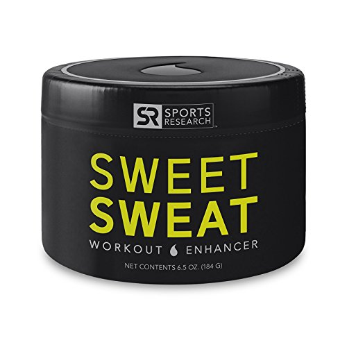 Sports Research Sweet Sweat Jar, 6.5-Ounce (Best Vasodilator Pre Workout)