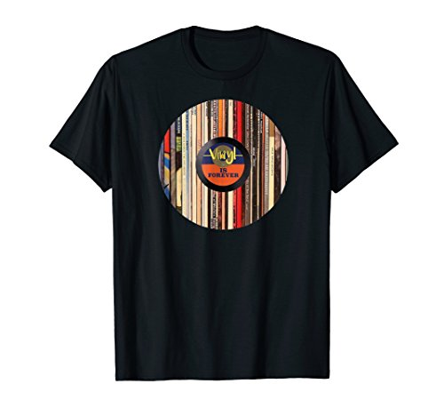 (Vinyl is Forever T Shirt | Vinyl Record Collectors TShirt)