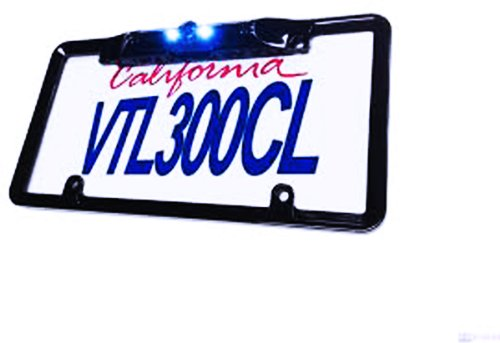 BOYO Vision VTL300CL Universal Rear View License Plate Frame Backup Camera with LED Lights