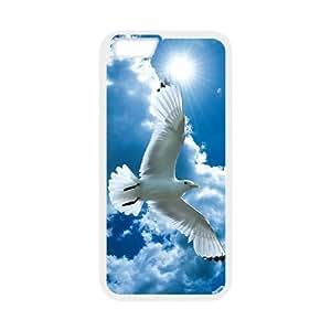 """White Dove Custom Case for Iphone6 Plus 5.5"""", Personalized White Dove Case"""