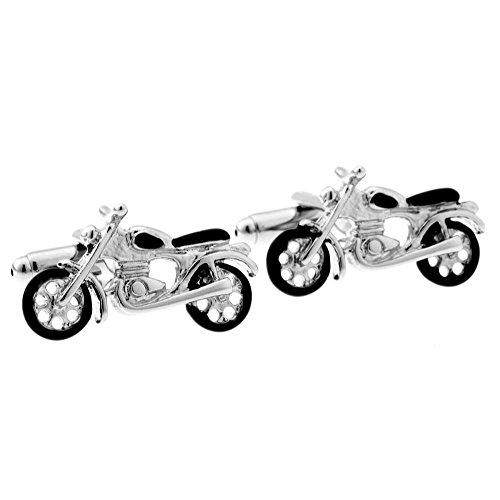 Fashion Elegant Motorcycle Funny Style Transport Tool Cuff Links Men's Wedding Business Shirt Cufflinks Birthday
