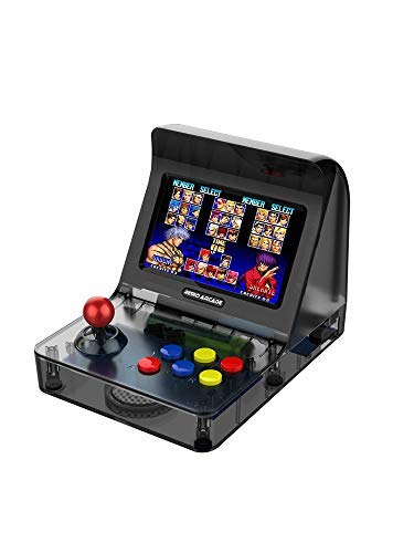 - Mini Arcade Games Machine Portable,JULYFOX Handheld Retro Game Consoles 3000 Classic Arcade Video Games W/ Joystick 4.3 inch TV Support Contra Street Fighter Donkey Kong Galaga for Kids 80s 90s Black