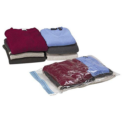 Lewis N. Clark Compression Packers 3 Piece Set, Clear