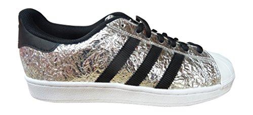 adidas originals superstar zapatillas de hombre S31641 zapatillas SILVMT/CBLACK/FTWWHT AQ2951