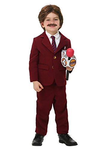Anchorman Toddler Ron Burgundy Costume 18 Months