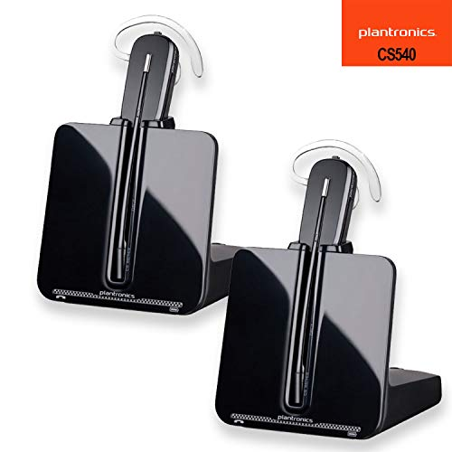 (Plantronics CS540 Wireless Headset System - 2 Pack )