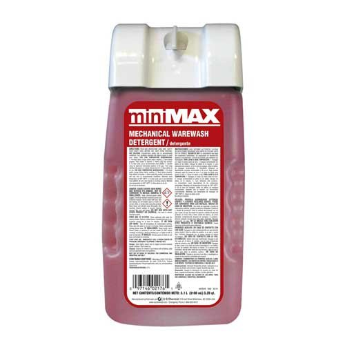 US Chemical MiniMax Mechanical Warewash Detergent, 3100 Milliliter -- 2 per case. by US Chemical