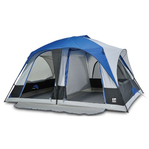 Amazon.com  Igloo Hayden Creek II 2-Room Dome Tent (8-Person) Blue  Family Tents  Sports u0026 Outdoors  sc 1 st  Amazon.com : two room tent - memphite.com