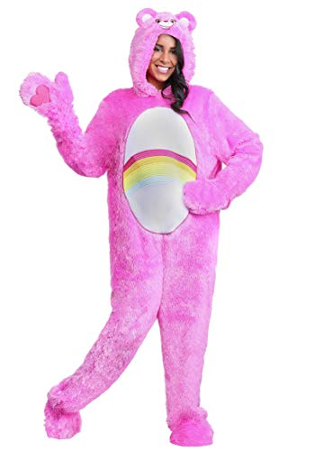Care Bears Halloween Costumes For Adults (Adult Classic Care Bears Costume Cheer Bear Costume Medium)