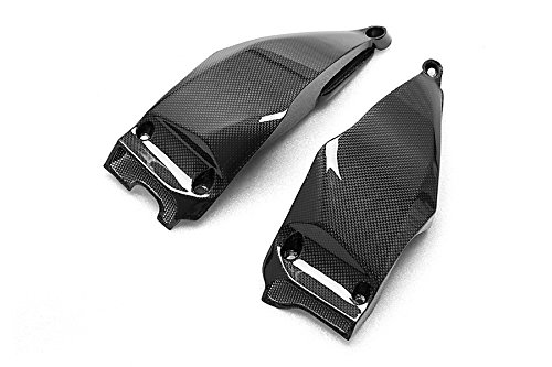 RC Carbon Fiber Air Intake Side Covers Ducati Streetfighter S / 848 - Fighter Carbon