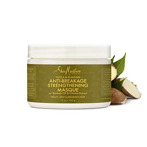 Shea Moisture Organic Yucca & Plantain Anti-Breakage Masque,12 ()