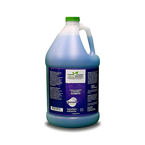 Green Groom French Lavender & Chamomile Aromatherapy Shampoo, 1 Gallon