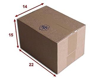Lot de 100 Boîtes carton (N°16) format 220x150x140 mm