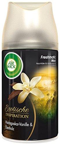 AirWick Freshmatic Max Automatisches Duftspray Nachfüller Madagaskar-Vanille, 2er Pack (2 x  250 ml)