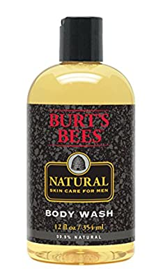 Burt's Bees Natural Skin Care for Men Body Wash, 12 Fluid Ounces (Pack of 3)