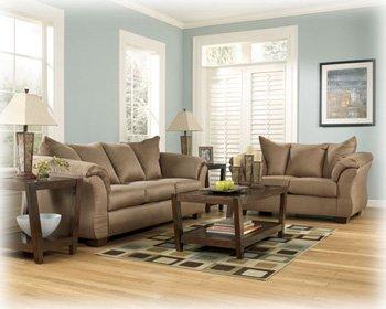 Mocha Sofa Set By Ashley Furniture