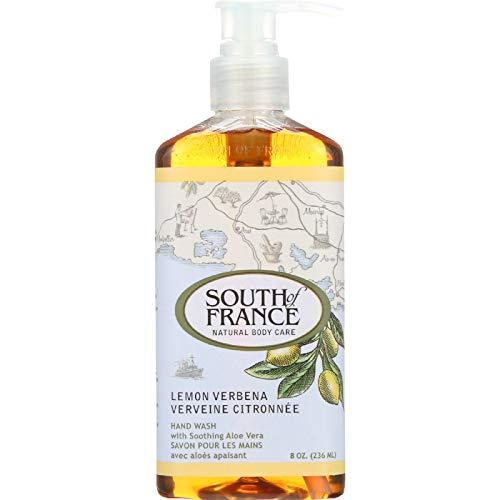 (South of France Lemon Verbena Hand Wash, 8 Ounces)