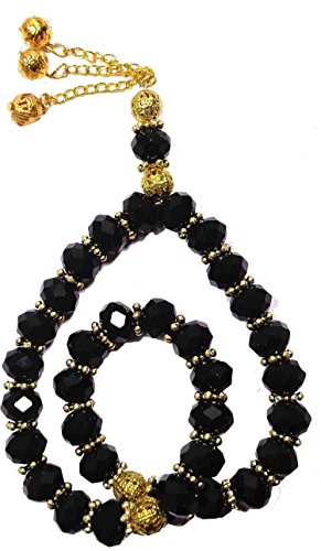 bonballoon Crystal Tasbeeh Sebha Tasbih Sibha Subha Rosary Masbaha Muslim Islamic Islam Worry Beads Prayer 33 Beads Salah Salat Namaz Allah Zikr Dhikr 321